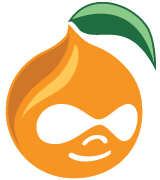 Peach themed logo for Atlanta Drupal Users Group (ADUG)